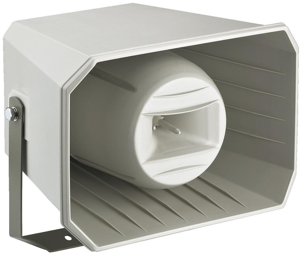 MONACOR IT-250TW Wetterfester 2-Wege-Druckkammerlautsprecher (Musikhorn)