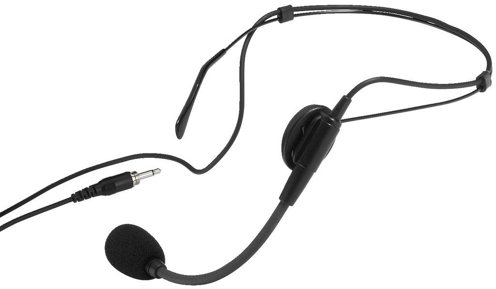 MONACOR HSE-86 Elektret-Kopfbügelmikrofon