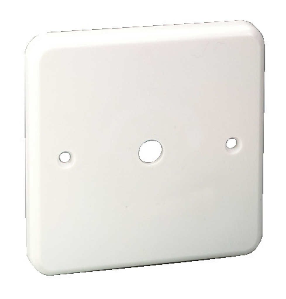 MONACOR ATT-200P Frontplatte, weiß, Kunststoff