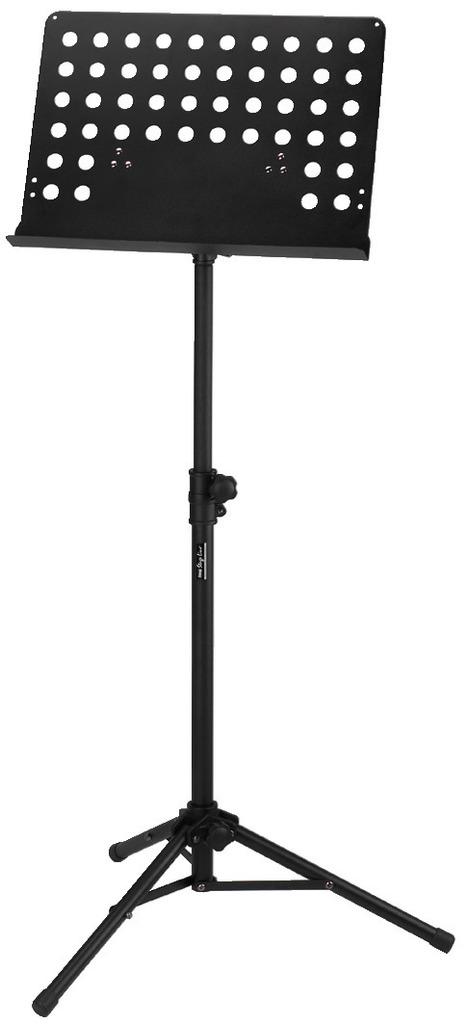 MONACOR MSS-20/SW Professioneller Notenständer