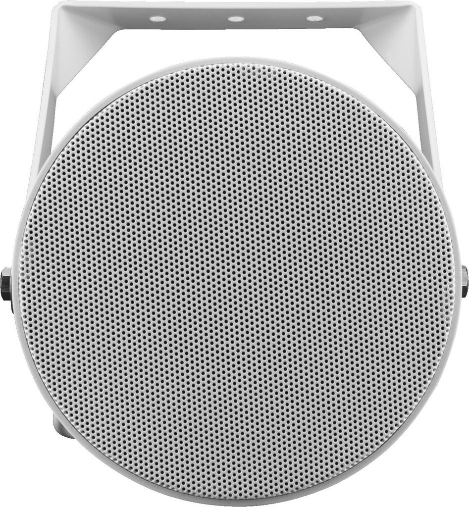 MONACOR DA-P20-130/T Wetterfester ELA-Soundprojektor für Wandmontage mit EN-54-24-Zertifizierung