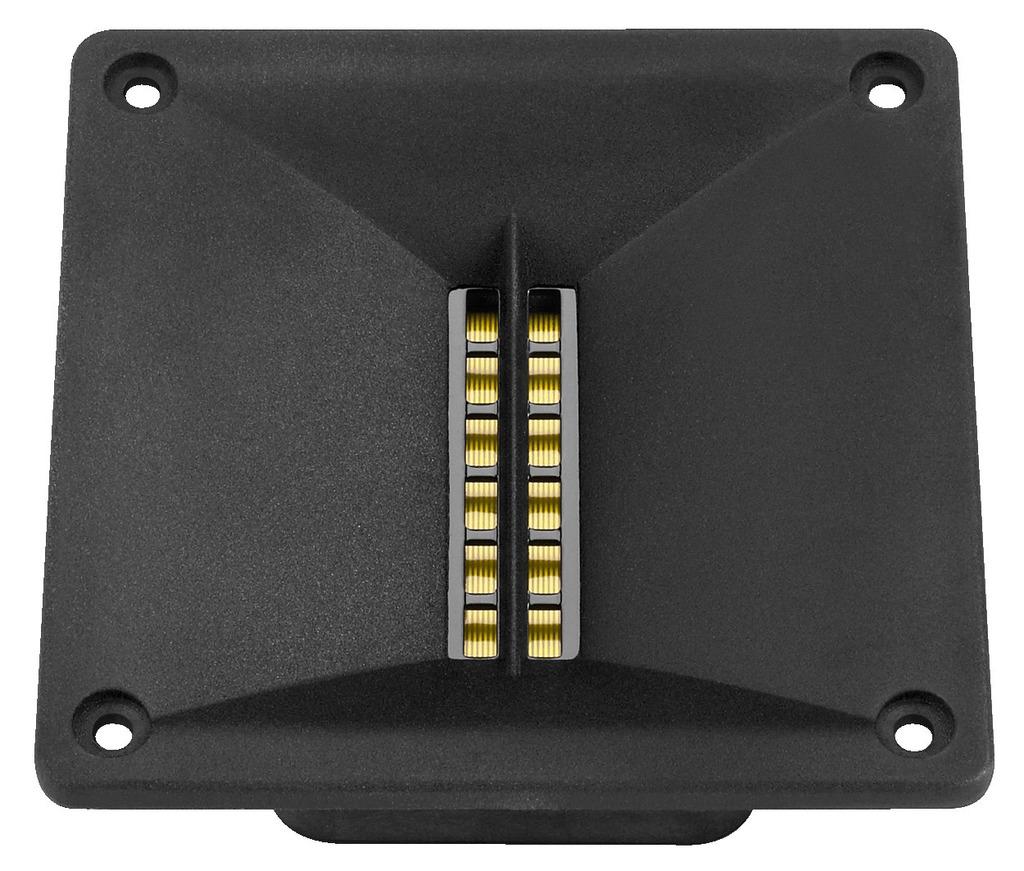 MONACOR RBT-1000 Bändchenhochtöner für PA und Hi-Fi, 40 W, 6 Ω
