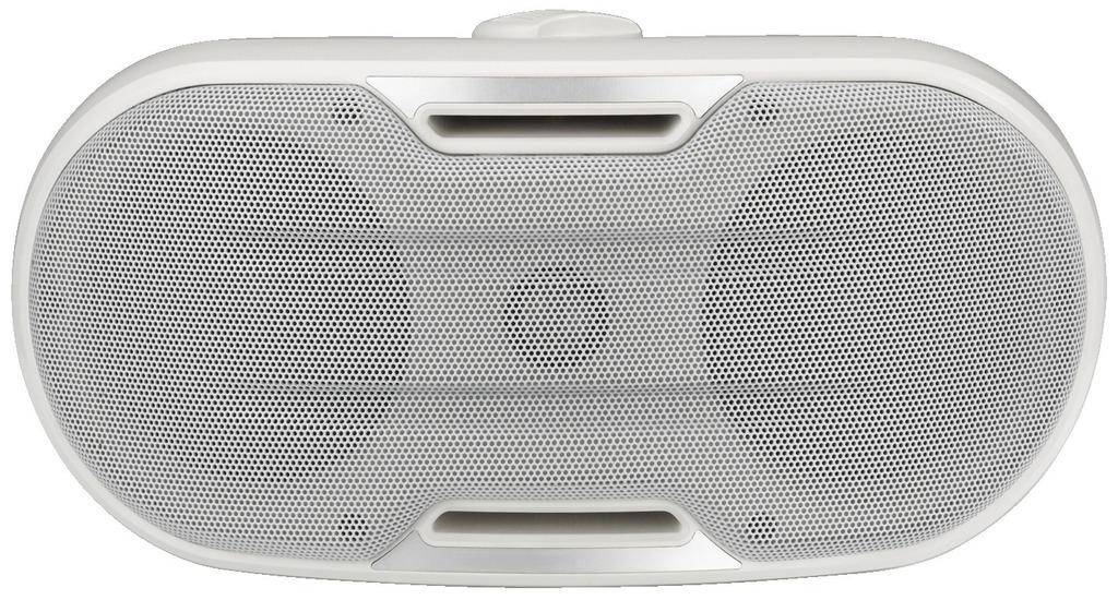 MONACOR MKS-248/WS 2-Wege-Design-Wandlautsprecherboxen-Paar, 60 W, 8 Ω