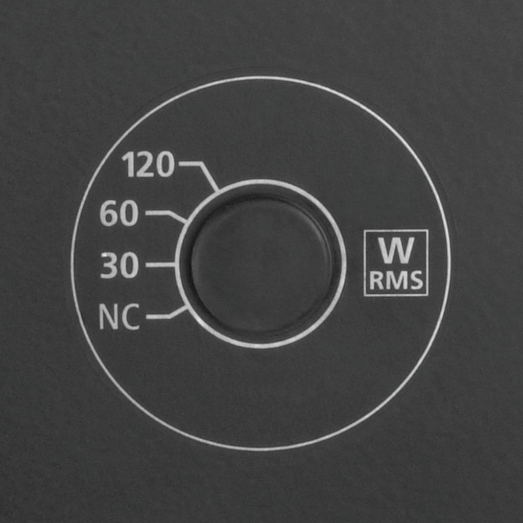 MONACOR PAB-120WP/SW Wetterfeste Hochleistungs-ELA-Lautsprecherbox,120 W