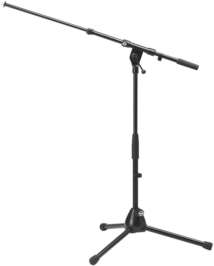 MONACOR KM-259 Halbhohes Mikrofon-Bodenstativ