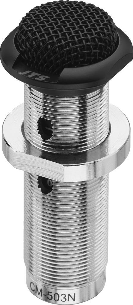 JTS CM-503N/B Elektret-Einbaumikrofon