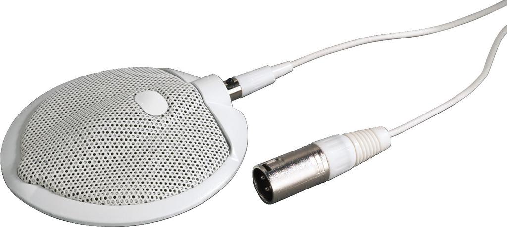 MONACOR ECM-302B/WS Grenzflächenmikrofon