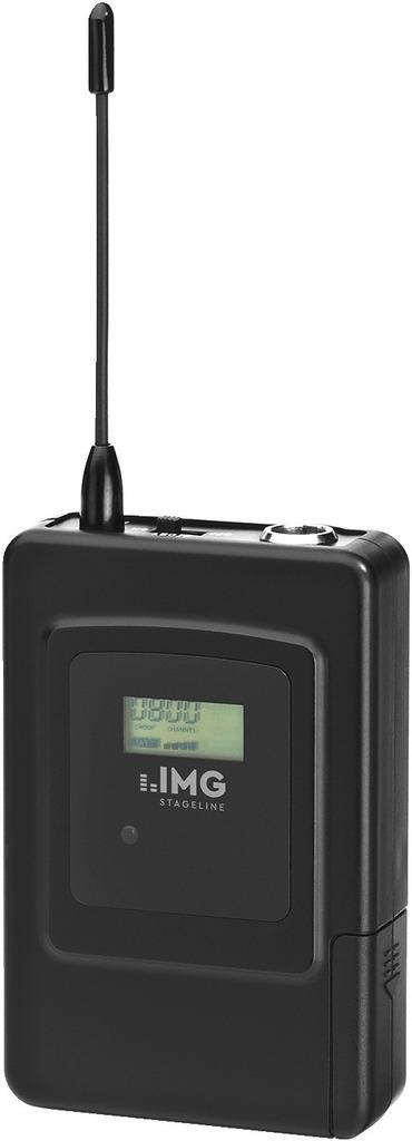 IMG STAGELINE TXS-707HSE Multi-Frequenz-Taschensender, 667,000-691,750 MHz