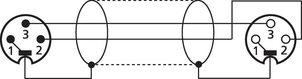 MONACOR CDMXN-500/SW DMX-Verbindungskabel, 5 m