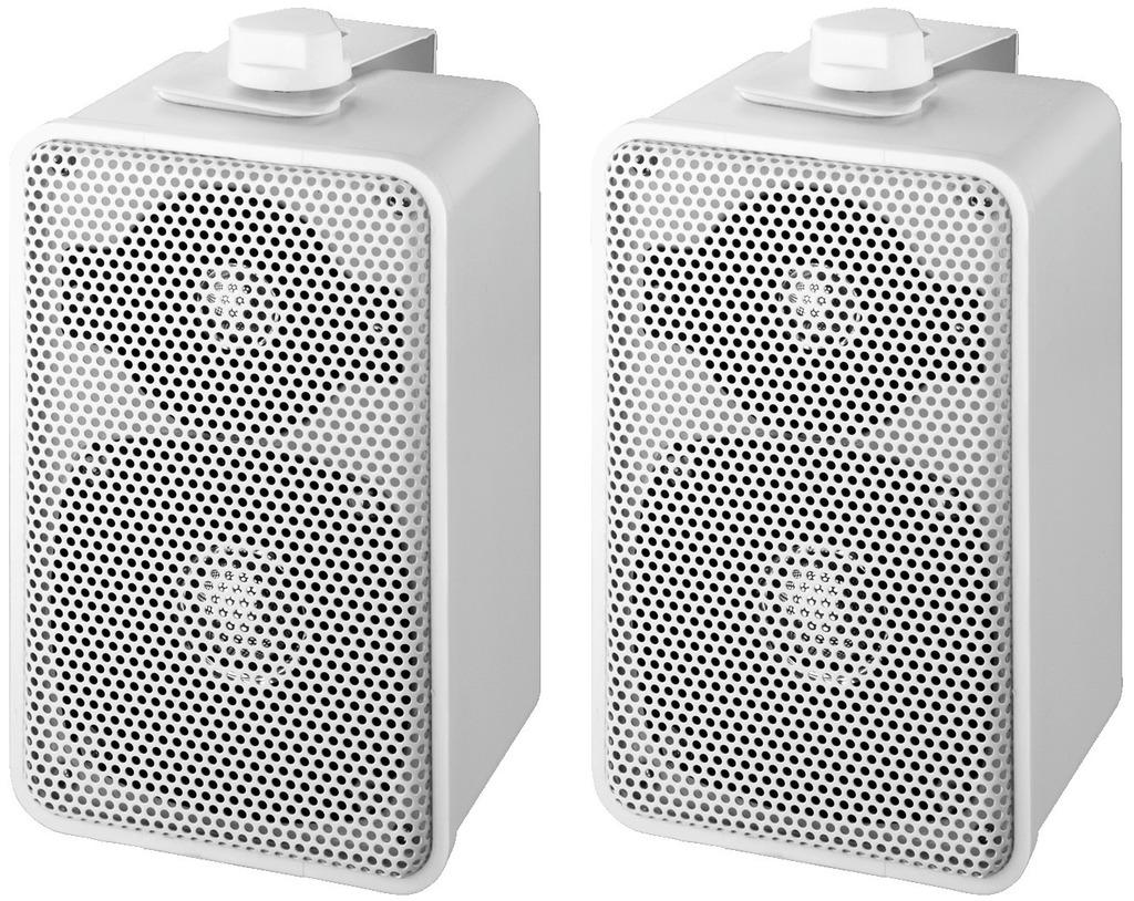 MONACOR EUL-42/WS ELA-Universal-Lautsprecherboxen-Paar