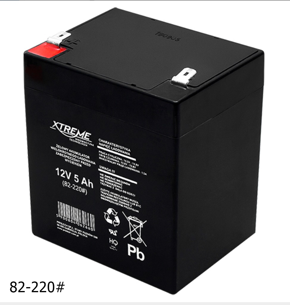 AGM-Batterie 12V 5Ah von XTREME – Markenware