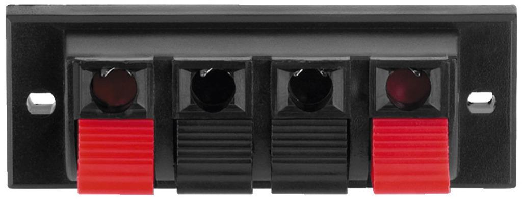 MONACOR PT-932 LS-Klemmanschluss, 4-polig