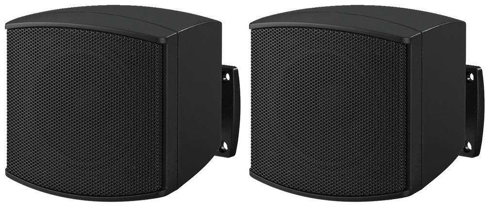 MONACOR EUL-26/SW ELA-Miniatur-Lautsprecherboxen-Paar