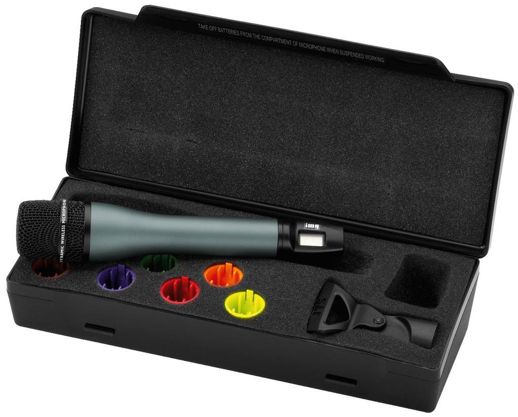 IMG STAGELINE TXS-891HT Handmikrofon mit integriertem Multi-Frequenz-Sender