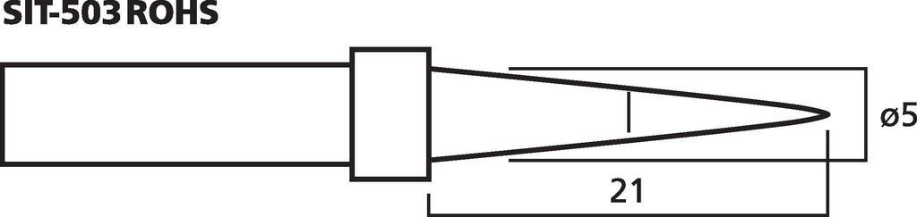 MONACOR SIT-503ROHS Hochwertige Lötspitze