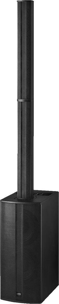 IMG STAGELINE C-RAY/8 Aktives Säulen-PA-Lautsprechersystem mit DSP, 800 W