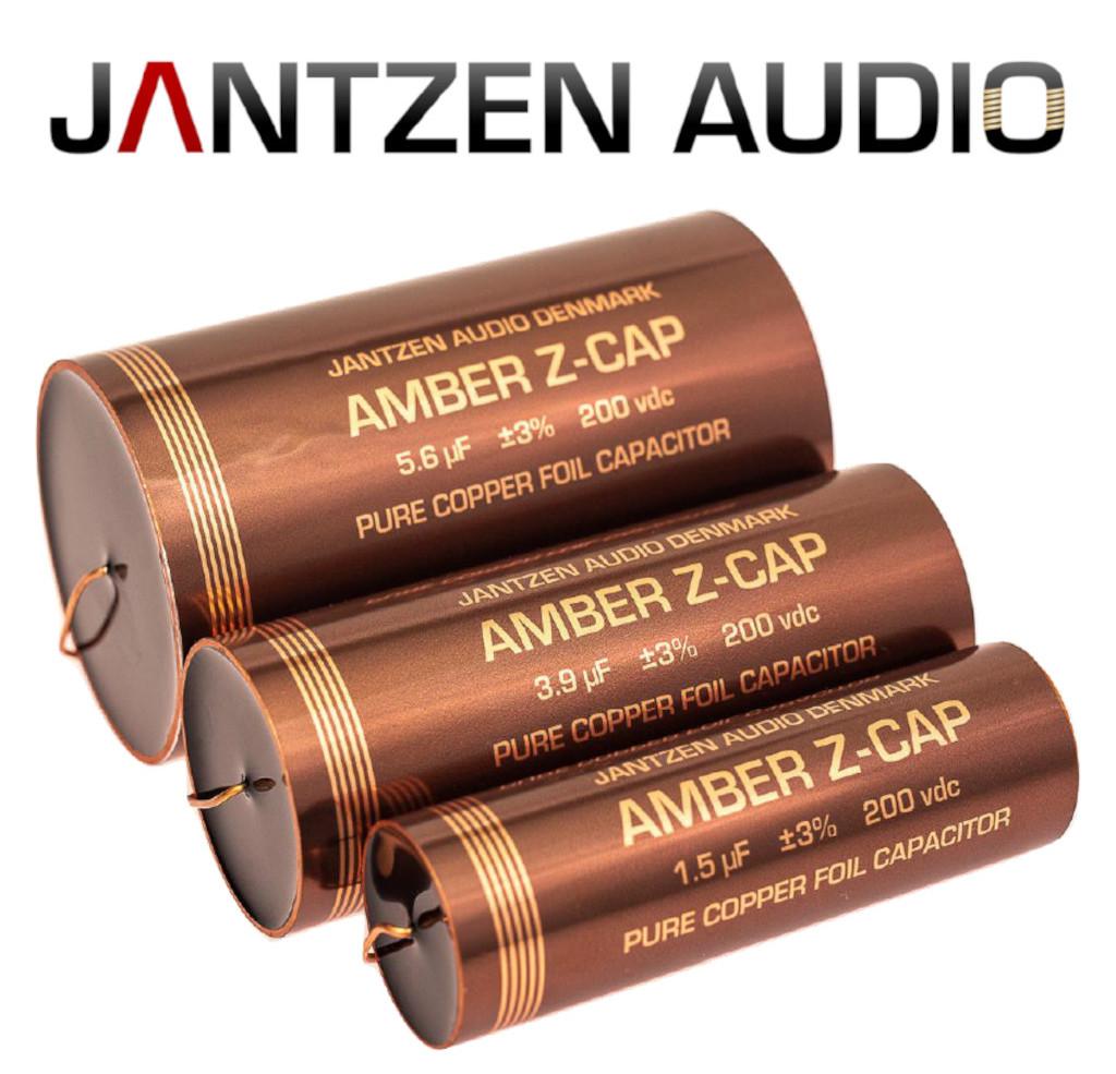 Jantzen Audio Amber Z-Cap HighEnd Kupfer-Kondensator von 1,0µF bis 8,2µF