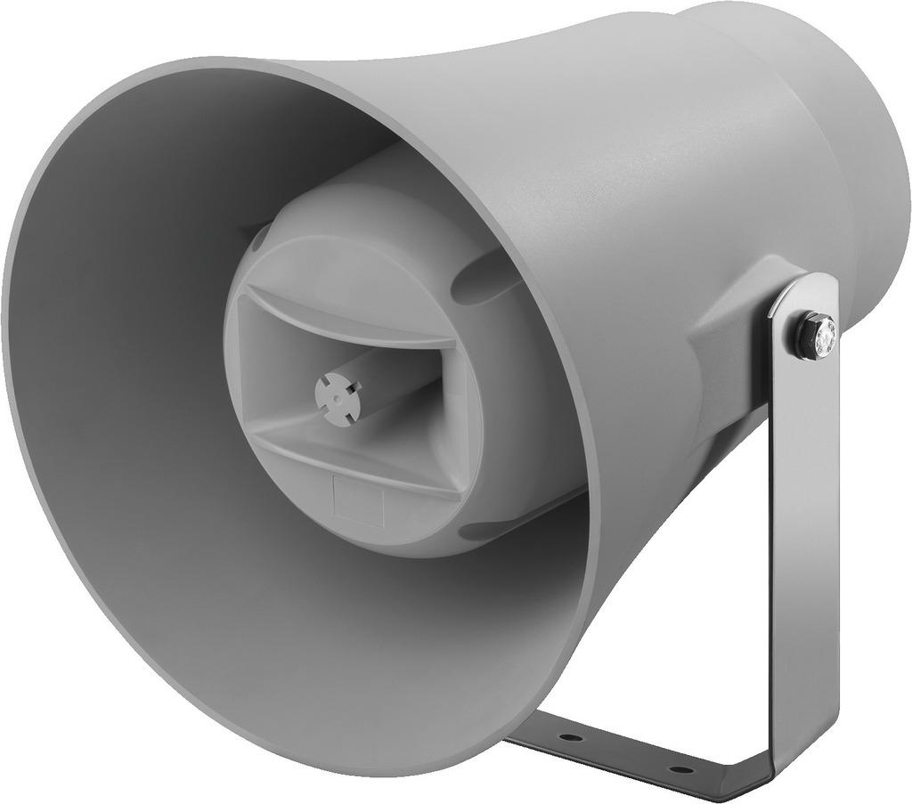 MONACOR IT-100RTW Wetterfester 2-Wege-Druckkammerlautsprecher (Musikhorn)