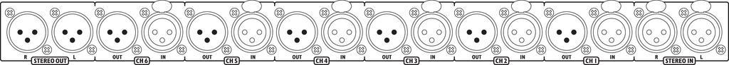 IMG STAGELINE LMS-808 Mikrofon-Line-Mischer/Line-Splitter