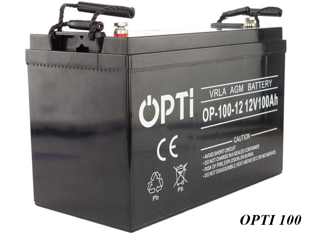 Opti AGM-Batterie 12V 100Ah
