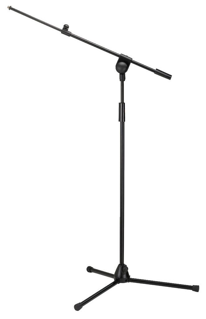 MONACOR MS-60/SW Mikrofon-Bodenstativ